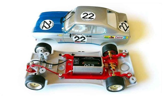 New Ford Capri chassis